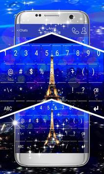 Paris Keyboard Theme screenshot 3