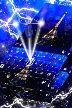 Paris Keyboard Theme poster