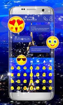 Paris Keyboard Theme screenshot 1