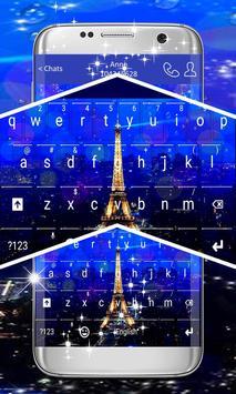 Paris Keyboard Theme screenshot 2