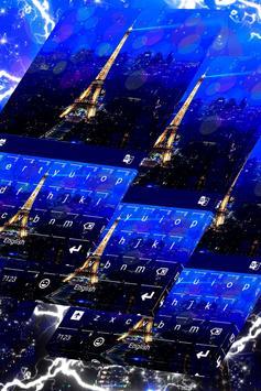 Paris Keyboard Theme apk screenshot