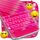 Pink Abstract Keyboard icon