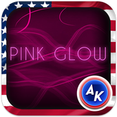 Pink Glow Keyboard icon