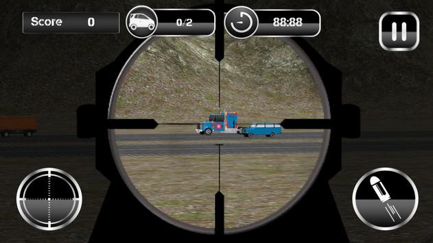 American Sniper Traffic Hunt apk screenshot