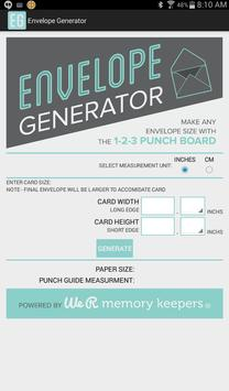 Envelope Generator screenshot 2