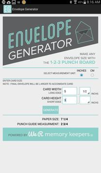 Envelope Generator screenshot 3