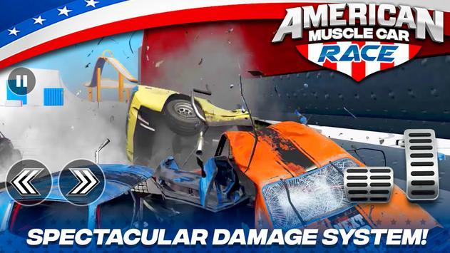 American Muscle Car Race 截图 7