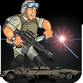 Run Super Soldier battle icon