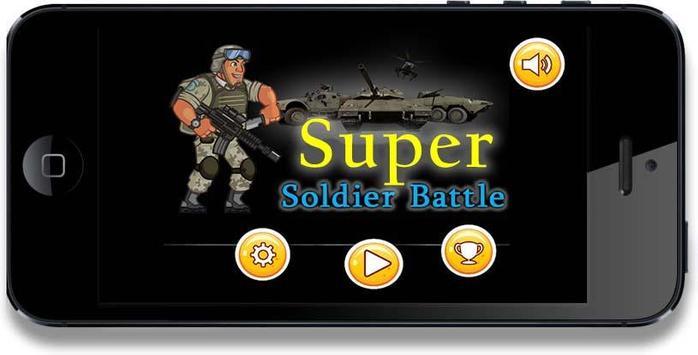 Run Super Soldier battle screenshot 3