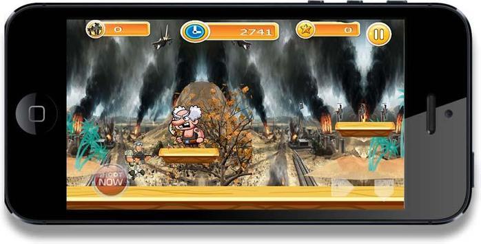 Run Super Soldier battle screenshot 5