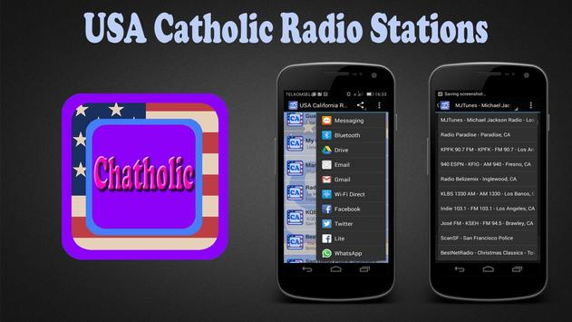 USA Catholic Radio Stations poster
