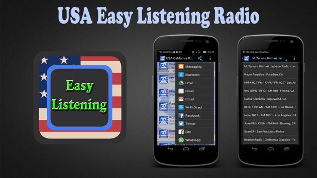 USA Easy Listening Radio poster