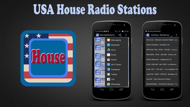USA House Radio Stations apk screenshot