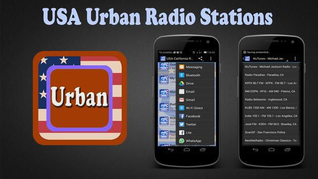 USA Urban Radio Stations poster