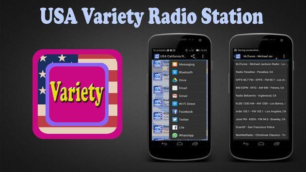 USA Variety Radio Station poster