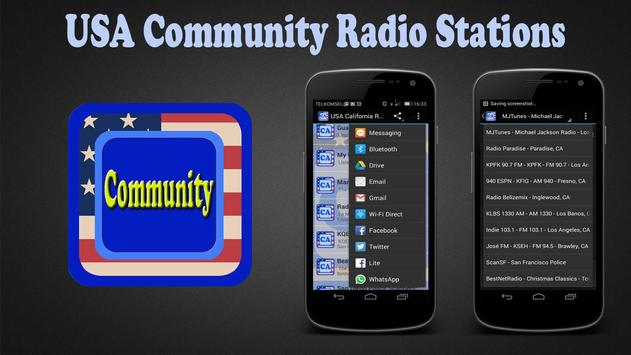 USA Community Radio Stations apk screenshot