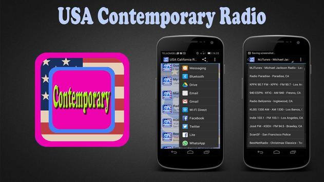 USA Contemporary Radio poster