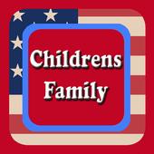 USA childrens family Radio icon