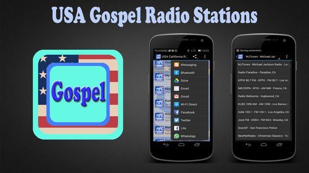 USA Gospel Radio Stations poster