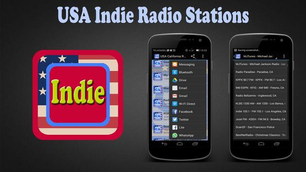 USA Indie Radio Stations poster