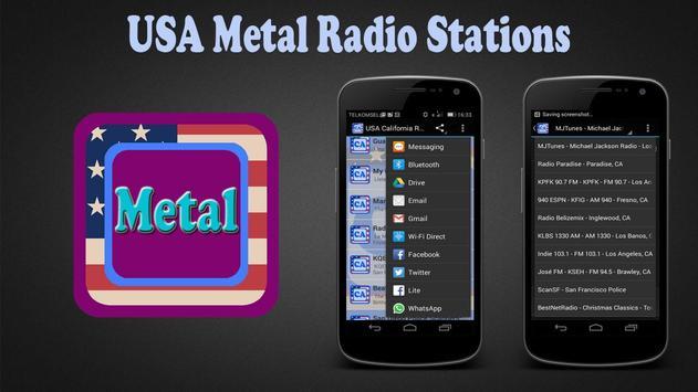 USA Metal Radio Stations poster