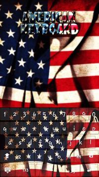 American Keyboard Theme apk screenshot