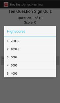 StopSign_AK apk screenshot