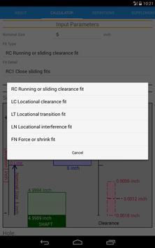 Fit Tolerance ANSI screenshot 10