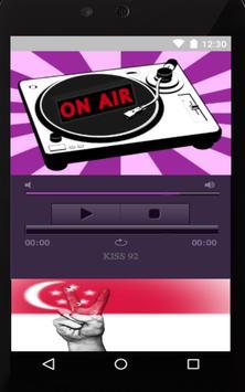 Radio For Kiss92 Singapore poster