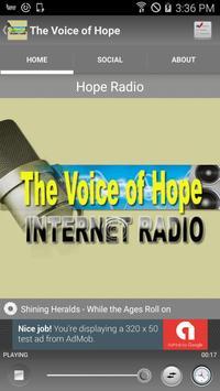 The Voice of Hope screenshot 1
