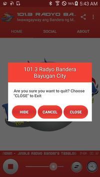 101.3 Radyo Bandera Bayugan City screenshot 9