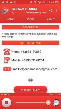 Radyo Bandera Malay Balay 88.1 screenshot 5