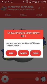 Radyo Bandera Malay Balay 88.1 screenshot 14