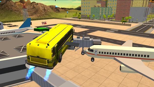 Flying City Bus Simulator 2016 apk screenshot