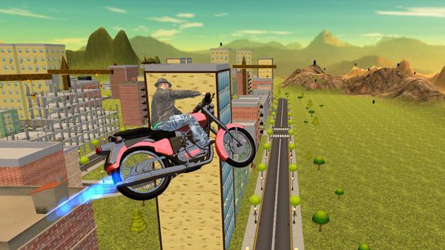 Flying Bike Sim Ride Unlimited poster