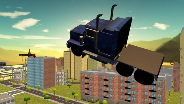 Flying Truck Simulator Extreme apk screenshot