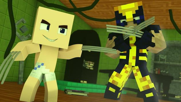 Mod Wolverine for MCPE apk screenshot
