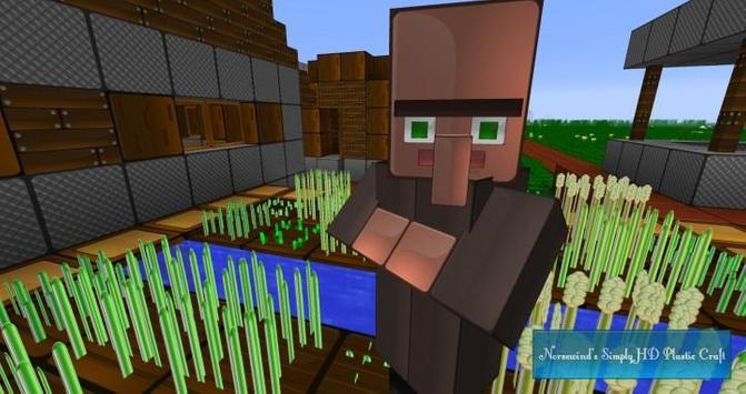 Mod Black Villager for MCPE apk screenshot