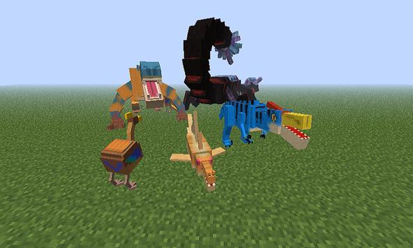 Mod Dragoes for MCPE apk screenshot
