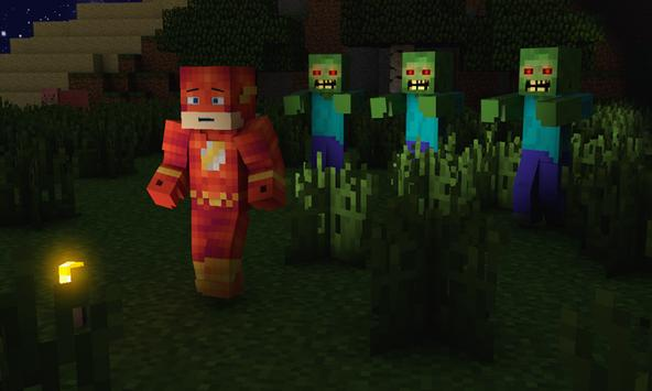 Mod Flash for MCPE poster