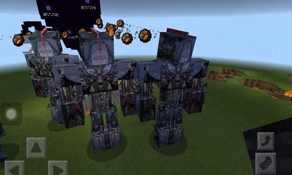Mod Mega Mech for MCPE apk screenshot