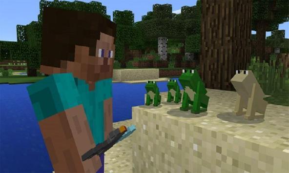 Mod mine frogs for MCPE screenshot 1