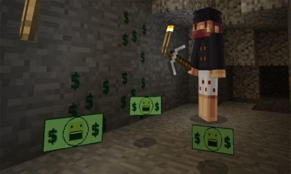 Mod More Money for MCPE poster