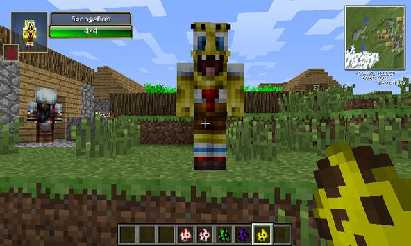 Mod Sponge Bob for MCPE apk screenshot
