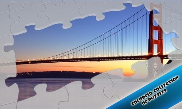 Slide Puzzles Beautiful Bridges poster