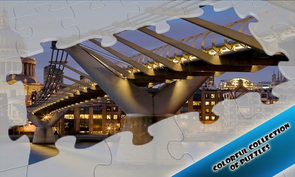 Slide Puzzles Beautiful Bridges apk screenshot