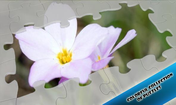 Slide Puzzles Cute Flowers apk screenshot