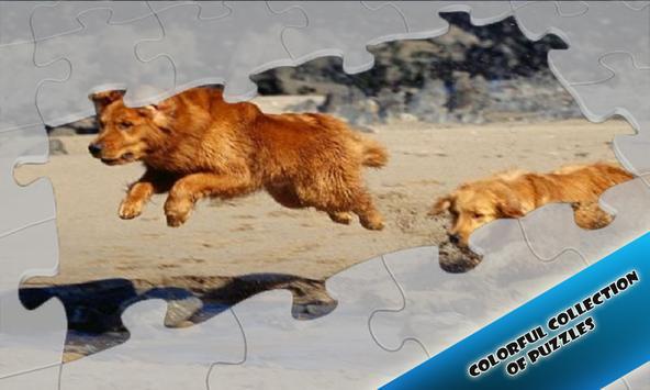 Slide Puzzles Dogs Friends Lovely apk screenshot