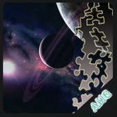 Slide Puzzles Mysteries of Space icon