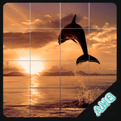 Slide Puzzles Mysterious Wild Animals icon